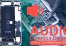 iPhone 7 Plus Audio Common Disease – IC Trace/Bonding Pad Repair